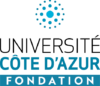 FPUCA Logo Fondation UCA 3 Vertical Couleurs