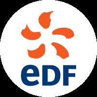 Logo Edf Blanc