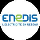Logo Enedis Blanc