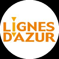 Logo Lignes Dazur Blanc