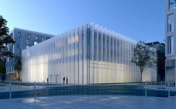 Découvrir le futur bâtiment de l