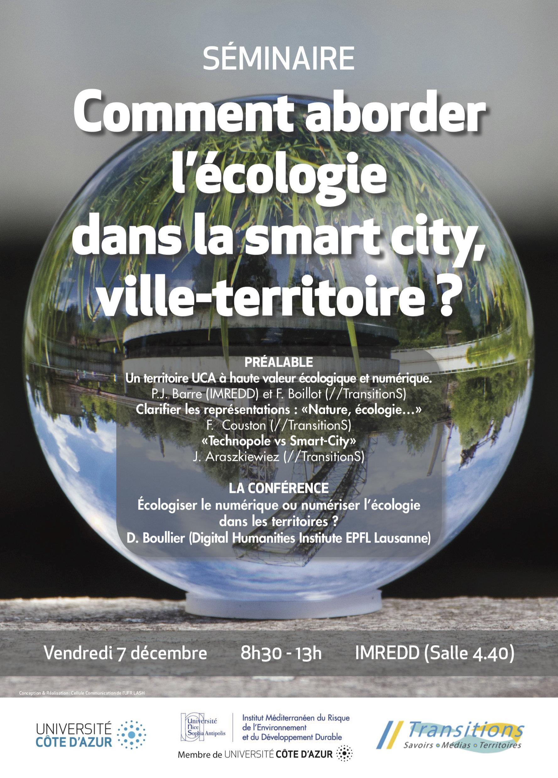 Seminaire Ecologie Smartcity