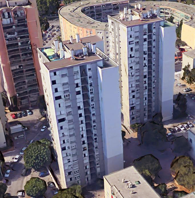 Immeubles concernés par le projet de rénovation énergétique - Engie Cofely / IRIS