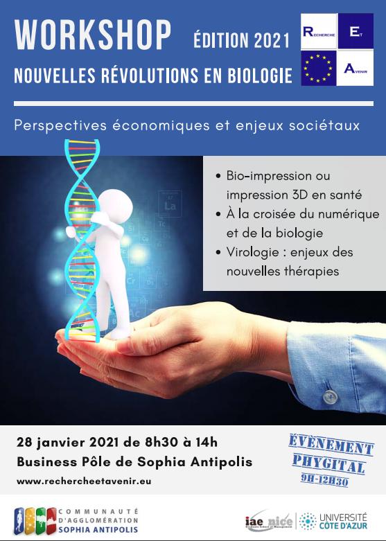 Workshop Nouvelles Revolutions en Biologie