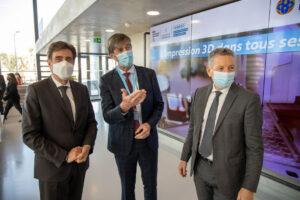 Découverte des moyens de bio-impression et impression 3D dans le Smart City Innovation Center de l'IMREDD